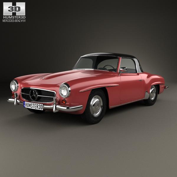 Mercedes-Benz SL-klasse I (R121) 1955 - 1963 Roadster #7