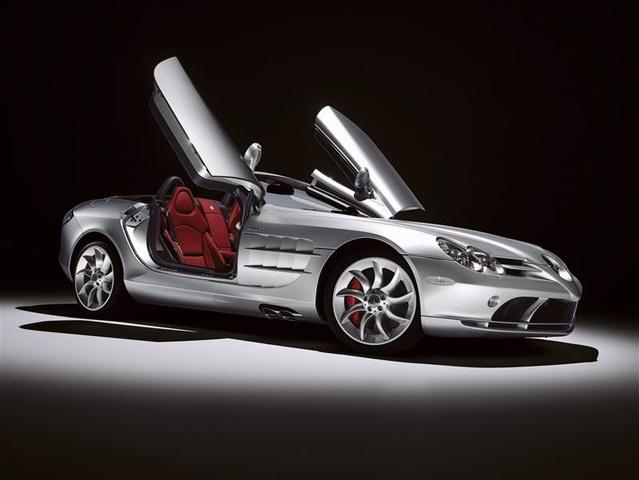 Mercedes-Benz SLR McLaren 2003 - 2010 Roadster #6