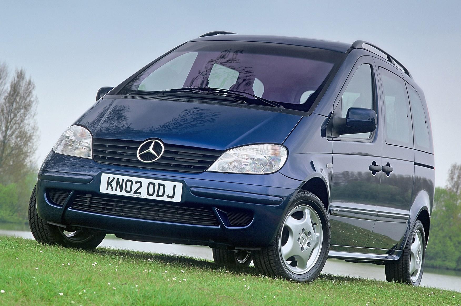 Mercedes-Benz Vaneo 2001 - 2005 Compact MPV #1