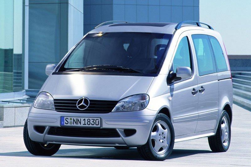 Mercedes-Benz Vaneo 2001 - 2005 Compact MPV #8