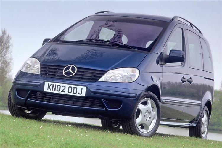 Mercedes-Benz Vaneo 2001 - 2005 Compact MPV #5