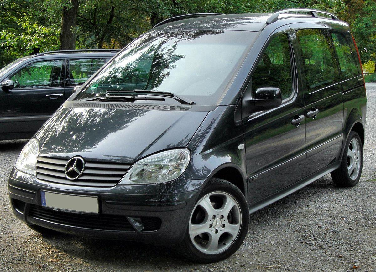 Mercedes-Benz Vaneo 2001 - 2005 Compact MPV #7