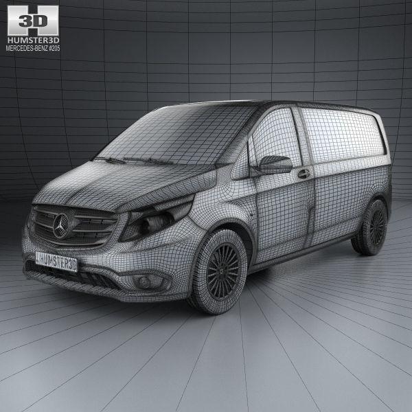 Mercedes-Benz Vito III (W447) 2014 - now Minivan #8