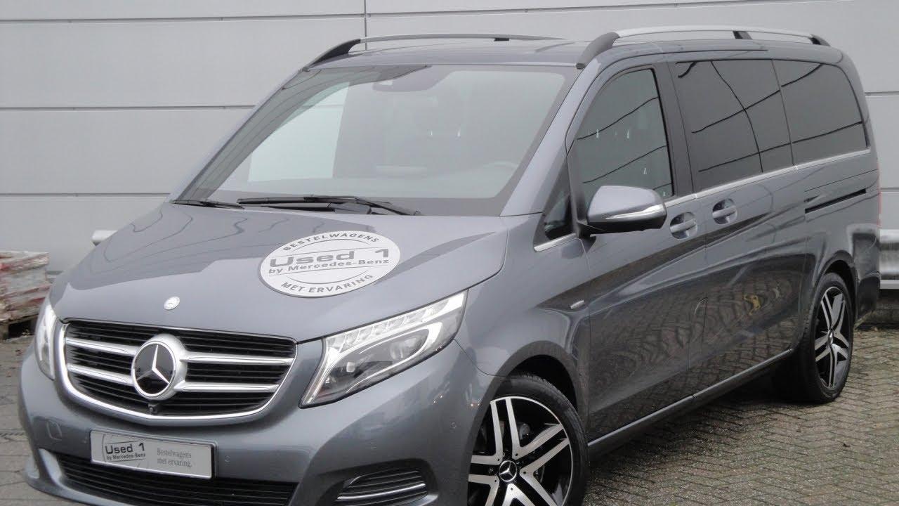 Mercedes-Benz V-klasse II 2014 - now Minivan #4