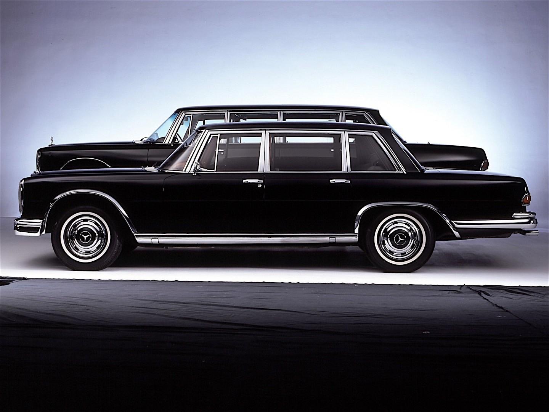 Mercedes-Benz W100 1964 - 1981 Sedan #6