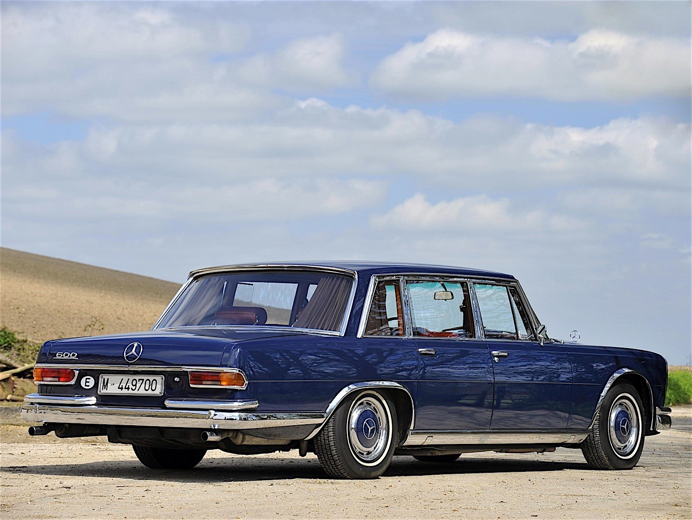 Mercedes-Benz W100 1964 - 1981 Sedan #2