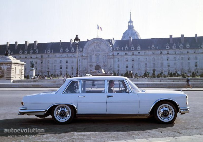 Mercedes-Benz W100 1964 - 1981 Sedan #8