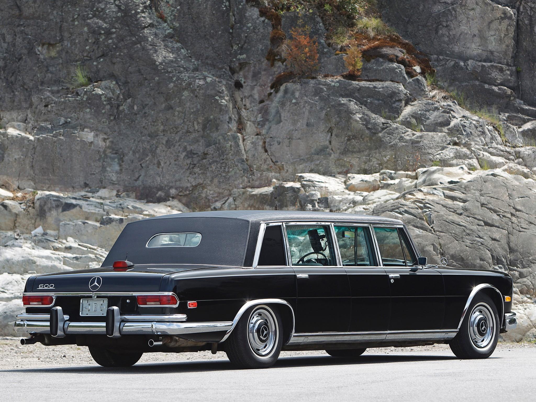 Mercedes-Benz W100 1964 - 1981 Sedan #3