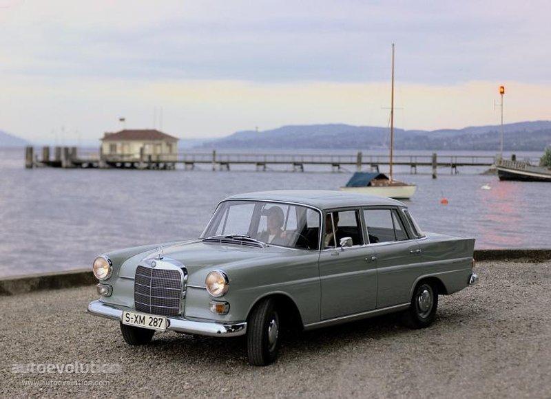 Mercedes-Benz W110 First Series 1961 - 1965 Sedan #3
