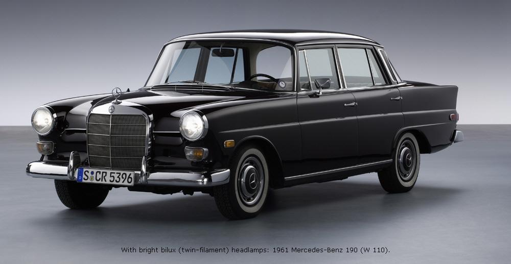 Mercedes-Benz W110 First Series 1961 - 1965 Sedan #5