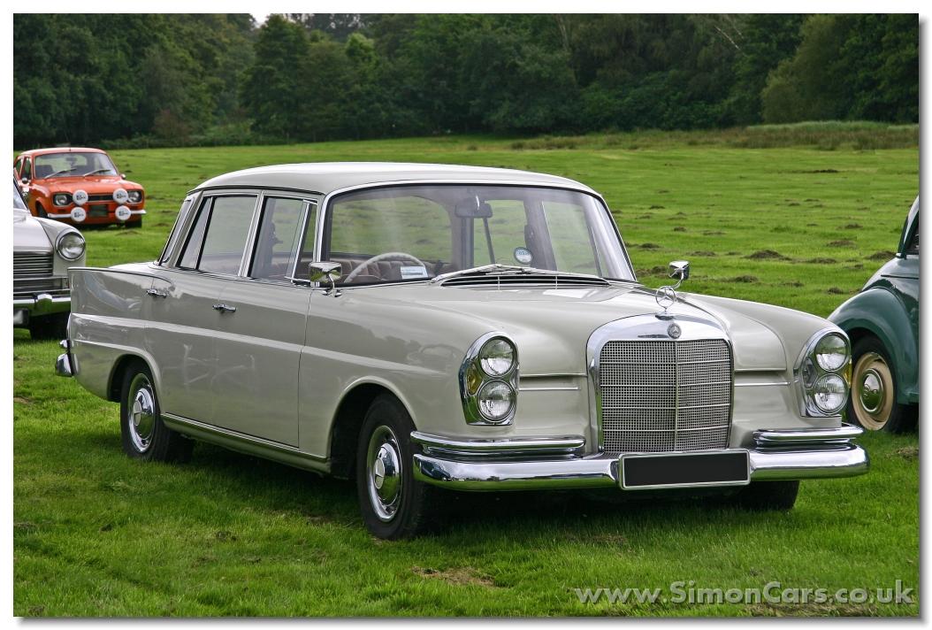 Mercedes-Benz W110 Second Series 1965 - 1968 Sedan #4