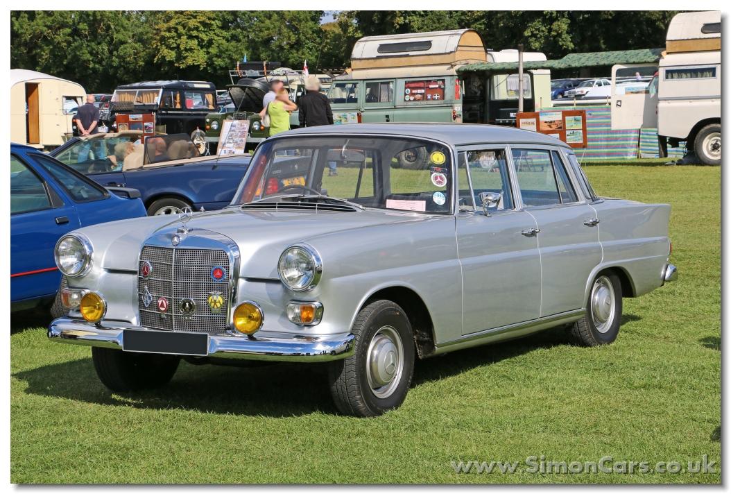 Mercedes-Benz W110 Second Series 1965 - 1968 Sedan #3