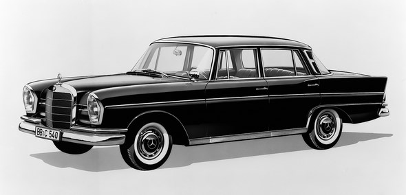 Mercedes-Benz W111 1959 - 1971 Coupe #1