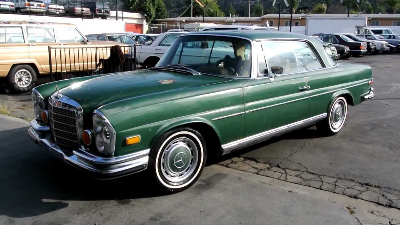 Mercedes-Benz W111 1959 - 1971 Coupe #7