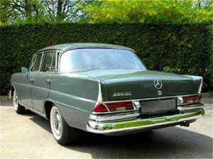 Mercedes-Benz W111 1959 - 1971 Sedan #6