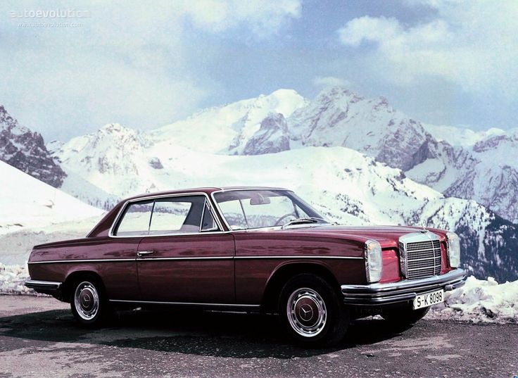Mercedes-Benz W114 1967 - 1977 Coupe #7