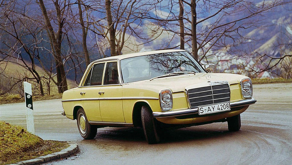 Mercedes-Benz W114 1967 - 1977 Sedan #2