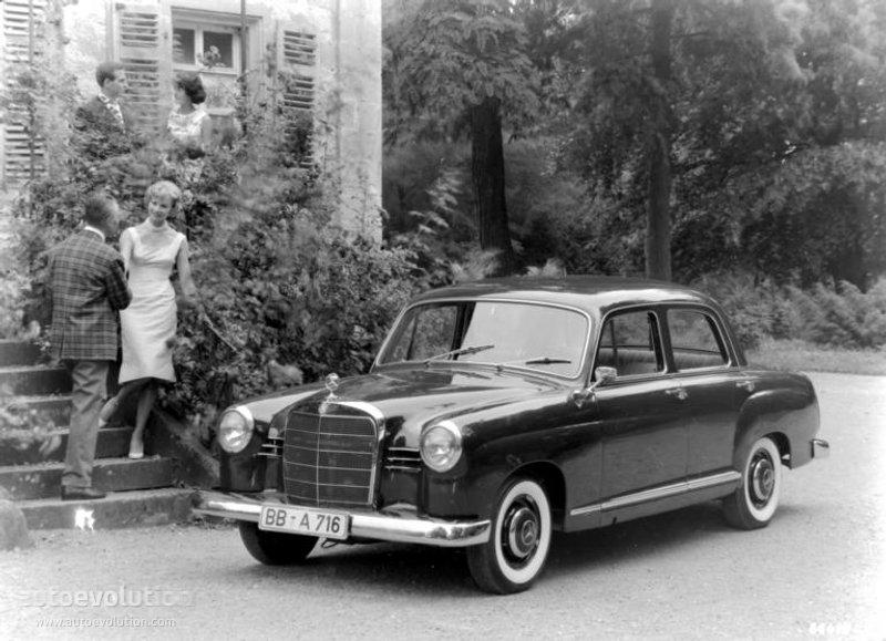 Mercedes-Benz W120 1953 - 1962 Sedan #4