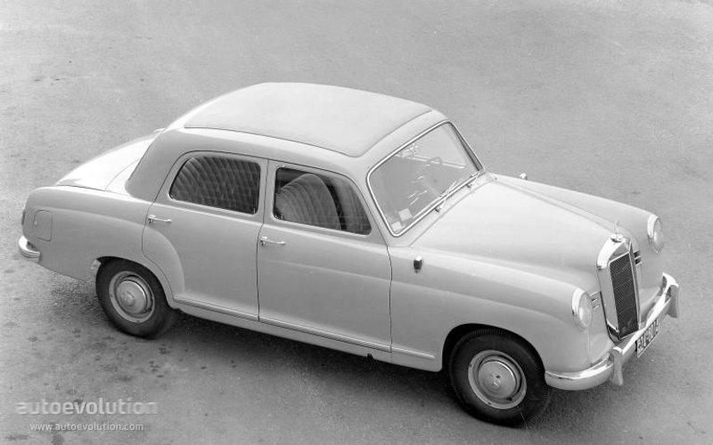 Mercedes-Benz W120 1953 - 1962 Sedan #3
