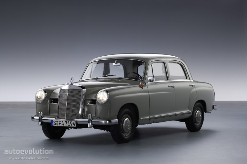 Mercedes-Benz W120 1953 - 1962 Sedan #7