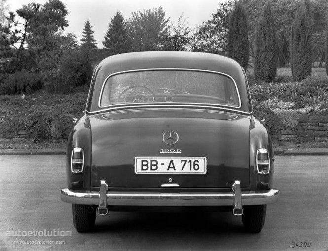 Mercedes-Benz W120 1953 - 1962 Sedan #6