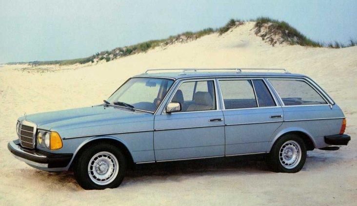 Mercedes-Benz W123 1975 - 1985 Station wagon 5 door #1