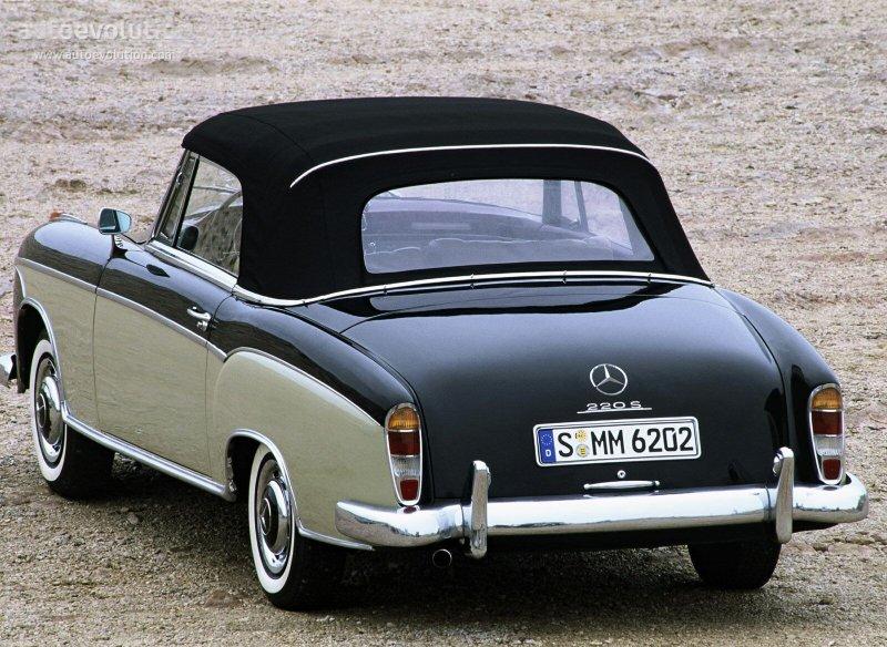 Mercedes-Benz W128 1958 - 1960 Cabriolet #1