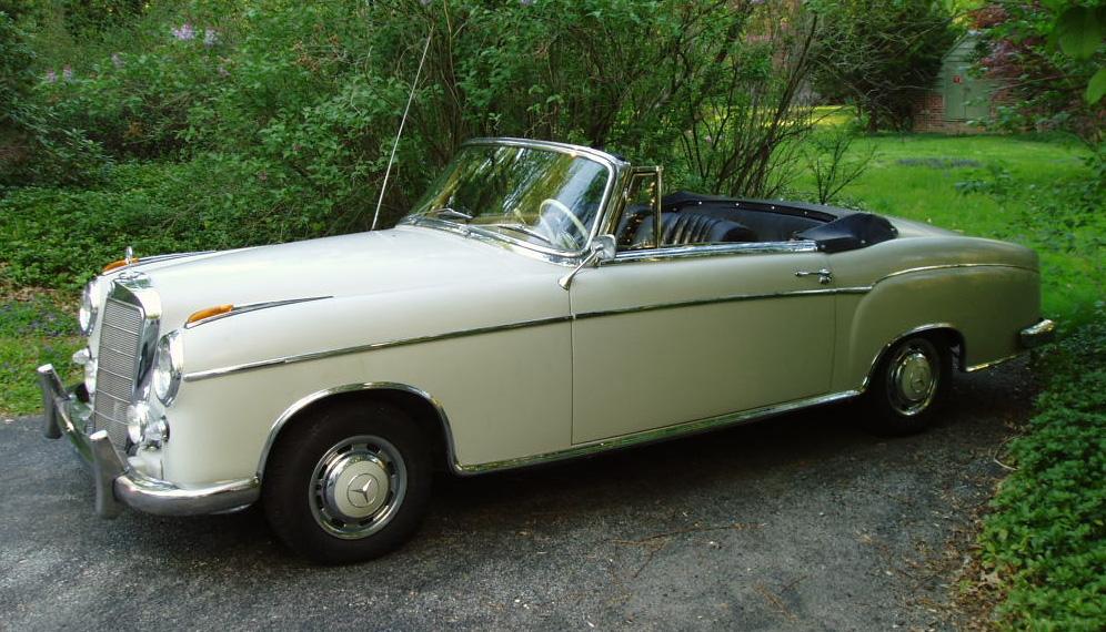 Mercedes-Benz W128 1958 - 1960 Cabriolet #3
