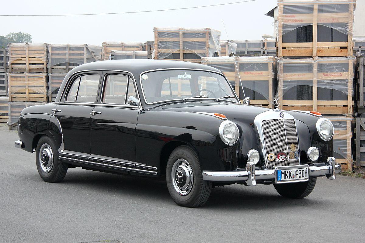 Mercedes-Benz W128 1958 - 1960 Sedan #4