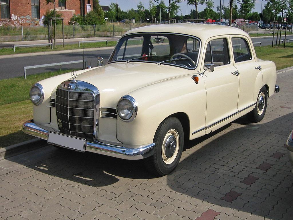 Mercedes-Benz W128 1958 - 1960 Sedan #2