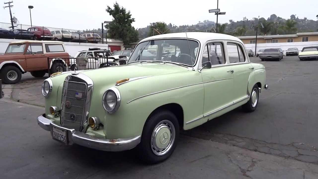 Mercedes-Benz W128 1958 - 1960 Sedan #7