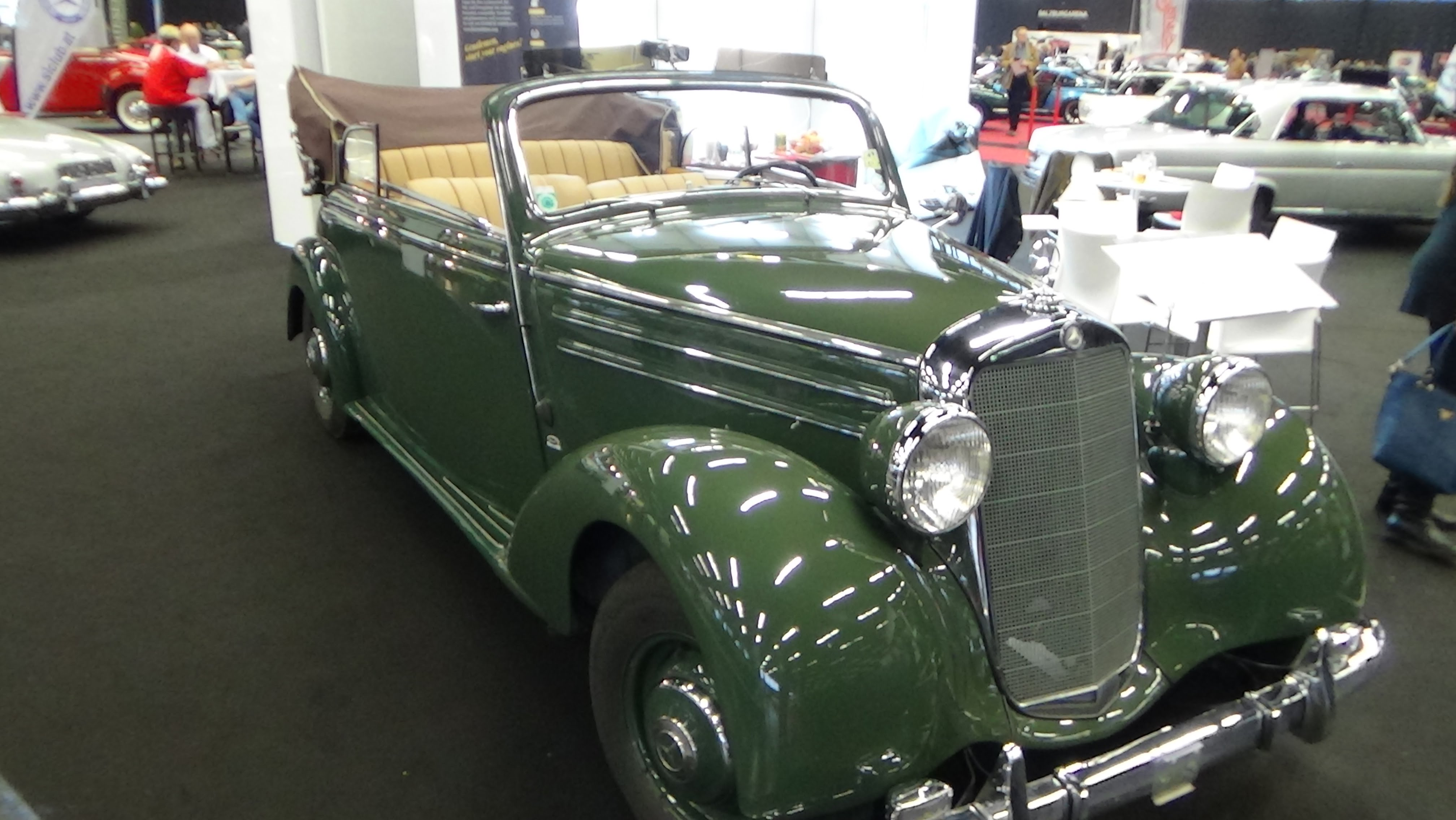 Mercedes-Benz W136 1936 - 1955 Sedan #3