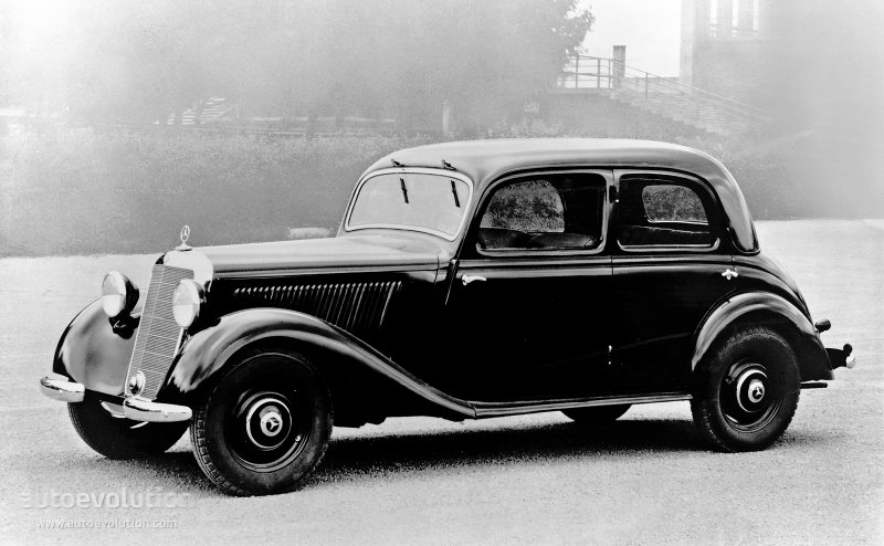 Mercedes-Benz W136 1936 - 1955 Sedan #1