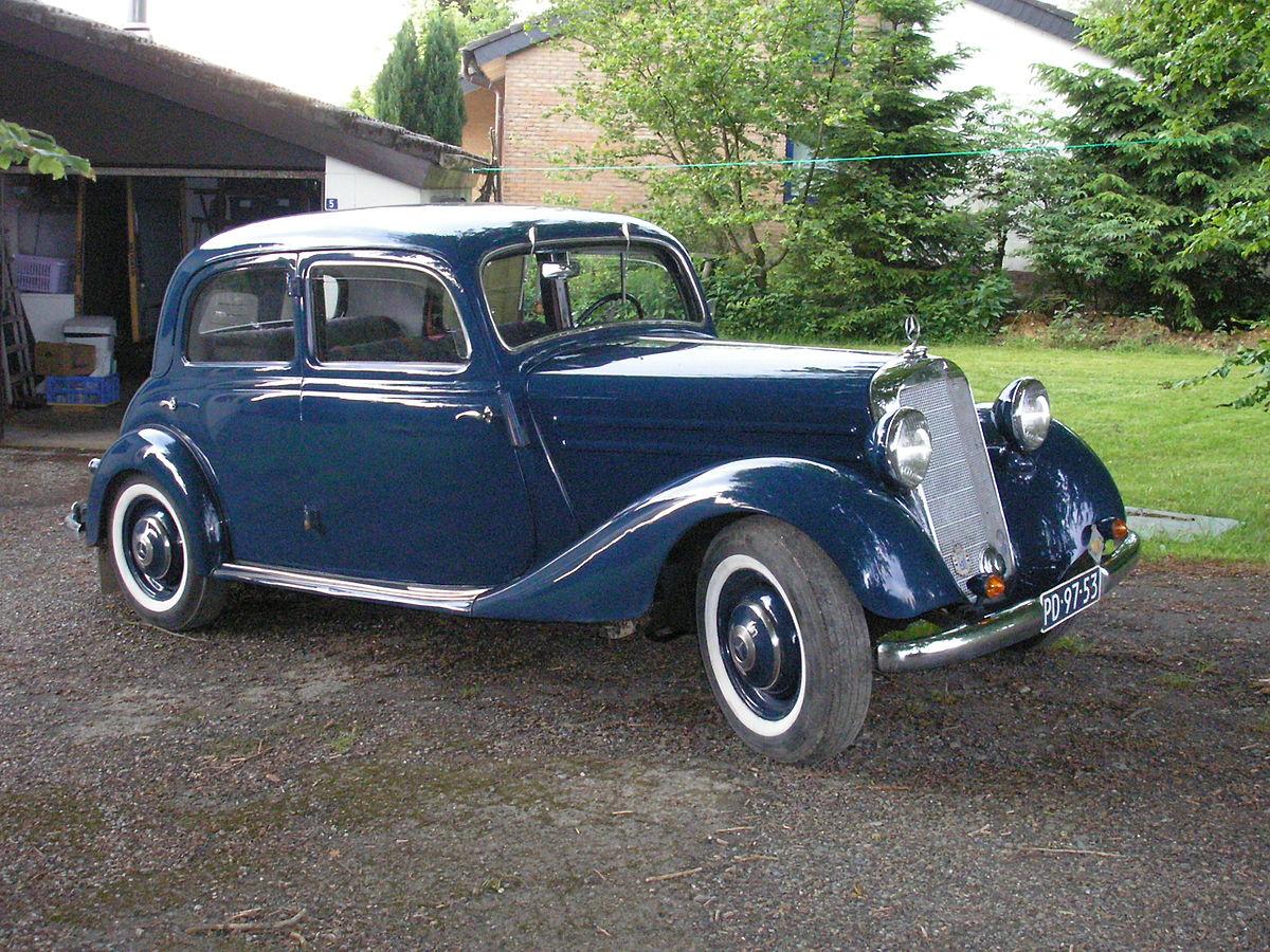 Mercedes-Benz W136 1936 - 1955 Sedan #7