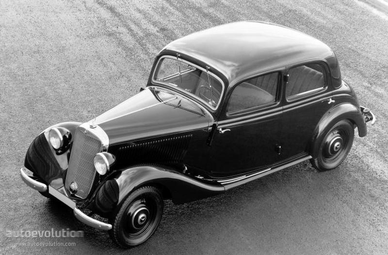 Mercedes-Benz W136 1936 - 1955 Sedan #8