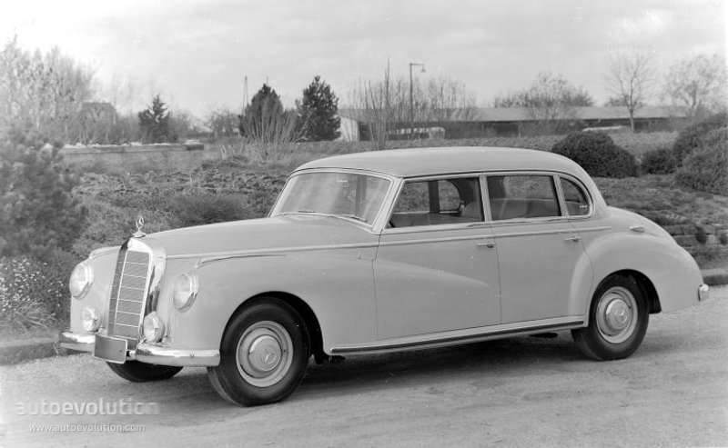 Mercedes-Benz W186 1951 - 1957 Sedan #4