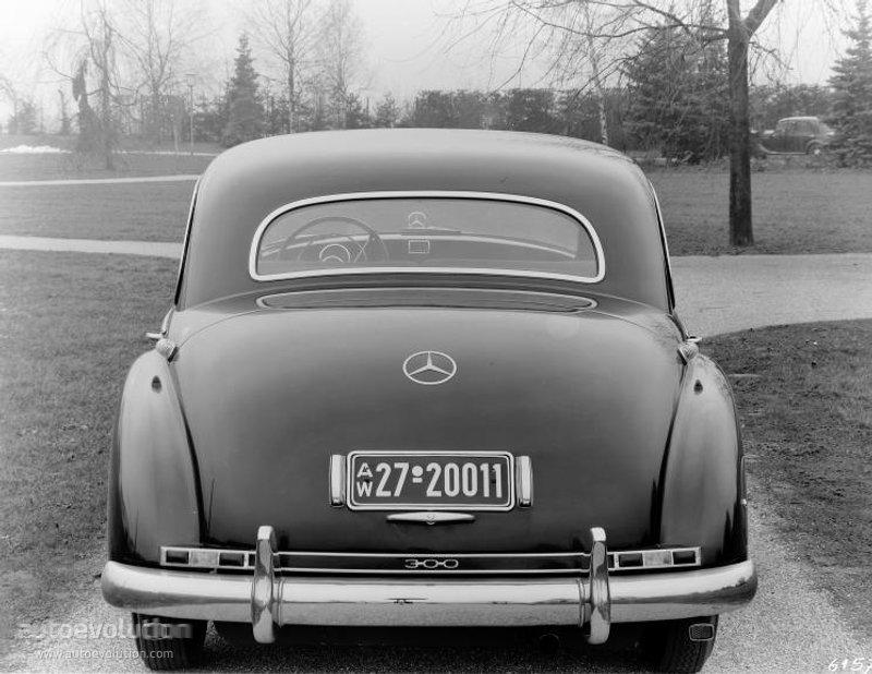 Mercedes-Benz W186 1951 - 1957 Sedan #2
