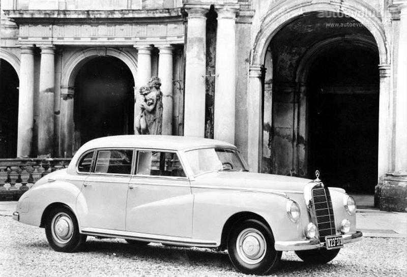 Mercedes-Benz W186 1951 - 1957 Sedan #3