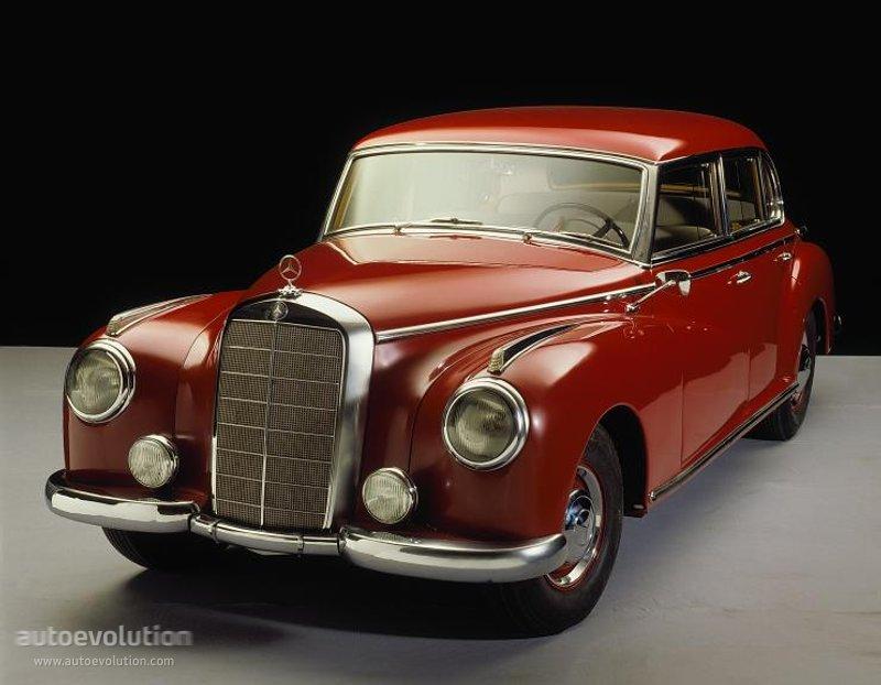 Mercedes-Benz W186 1951 - 1957 Sedan #6