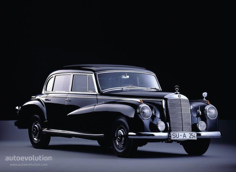 Mercedes-Benz W186 1951 - 1957 Sedan #7