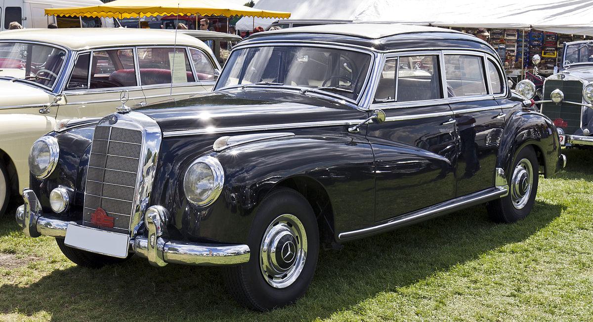 Mercedes-Benz W186 1951 - 1957 Sedan #8