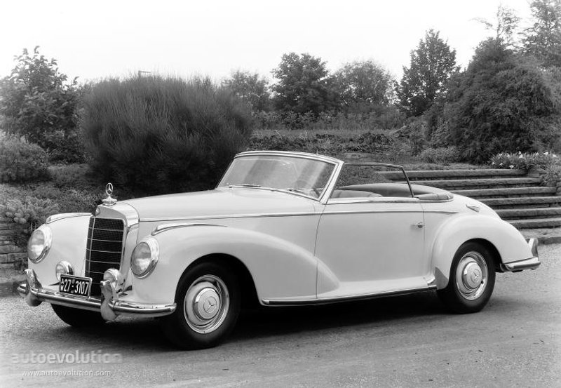 Mercedes-Benz W188 1951 - 1958 Coupe #6