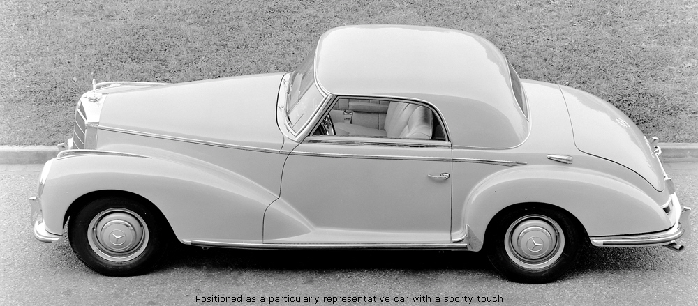 Mercedes-Benz W188 1951 - 1958 Coupe #2