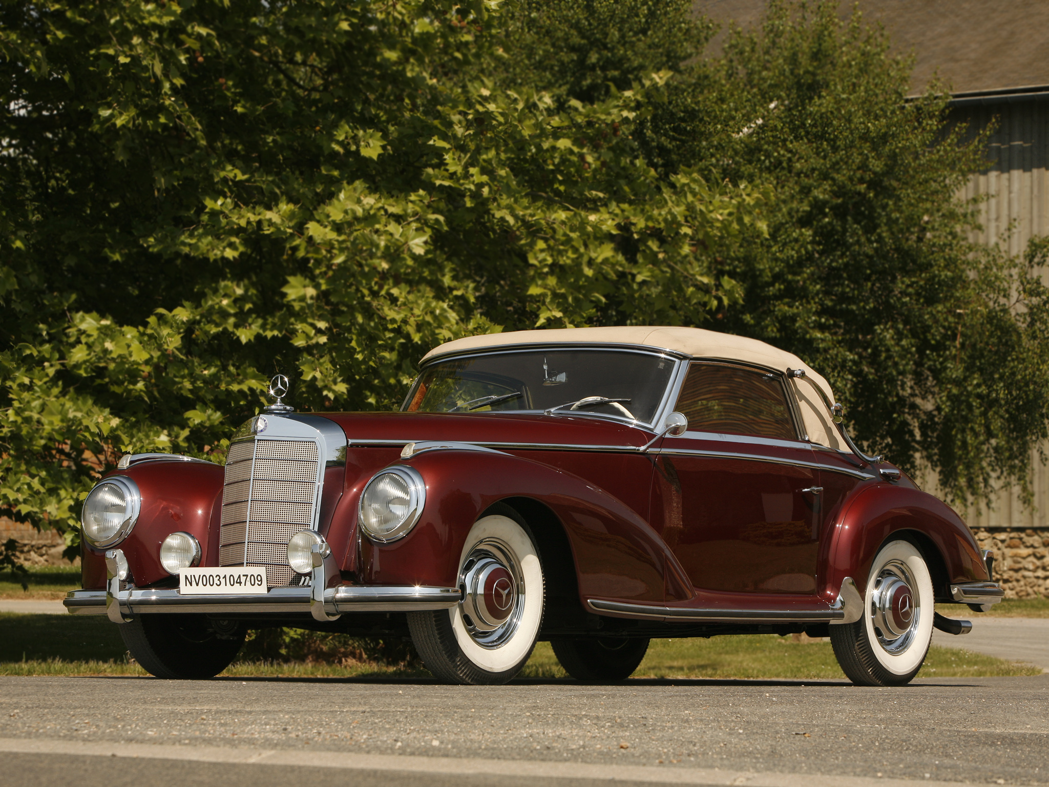Mercedes-Benz W188 1951 - 1958 Coupe #4