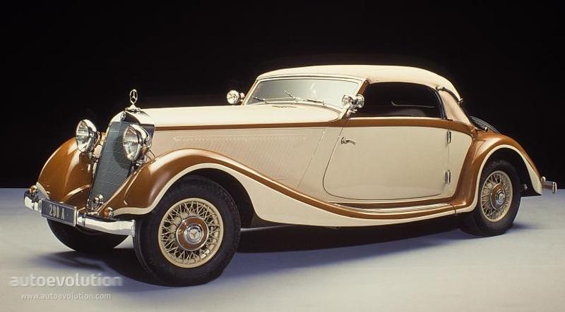 Mercedes-Benz W29 I 1934 - 1936 Cabriolet #2