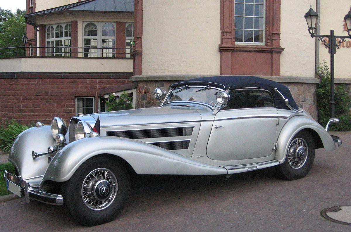 Mercedes-Benz W29 I 1934 - 1936 Cabriolet #8