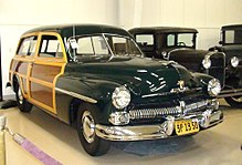 Mercury Eight III 1949 - 1951 Station wagon 5 door #7