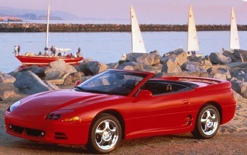Mitsubishi 3000 GT II 1994 - 1998 Cabriolet #4