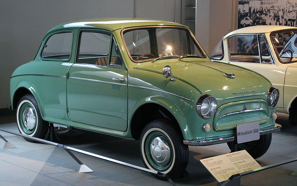 Mitsubishi 500 I 1960 - 1962 Sedan 2 door #4