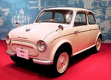 Mitsubishi 500 I 1960 - 1962 Sedan 2 door #7